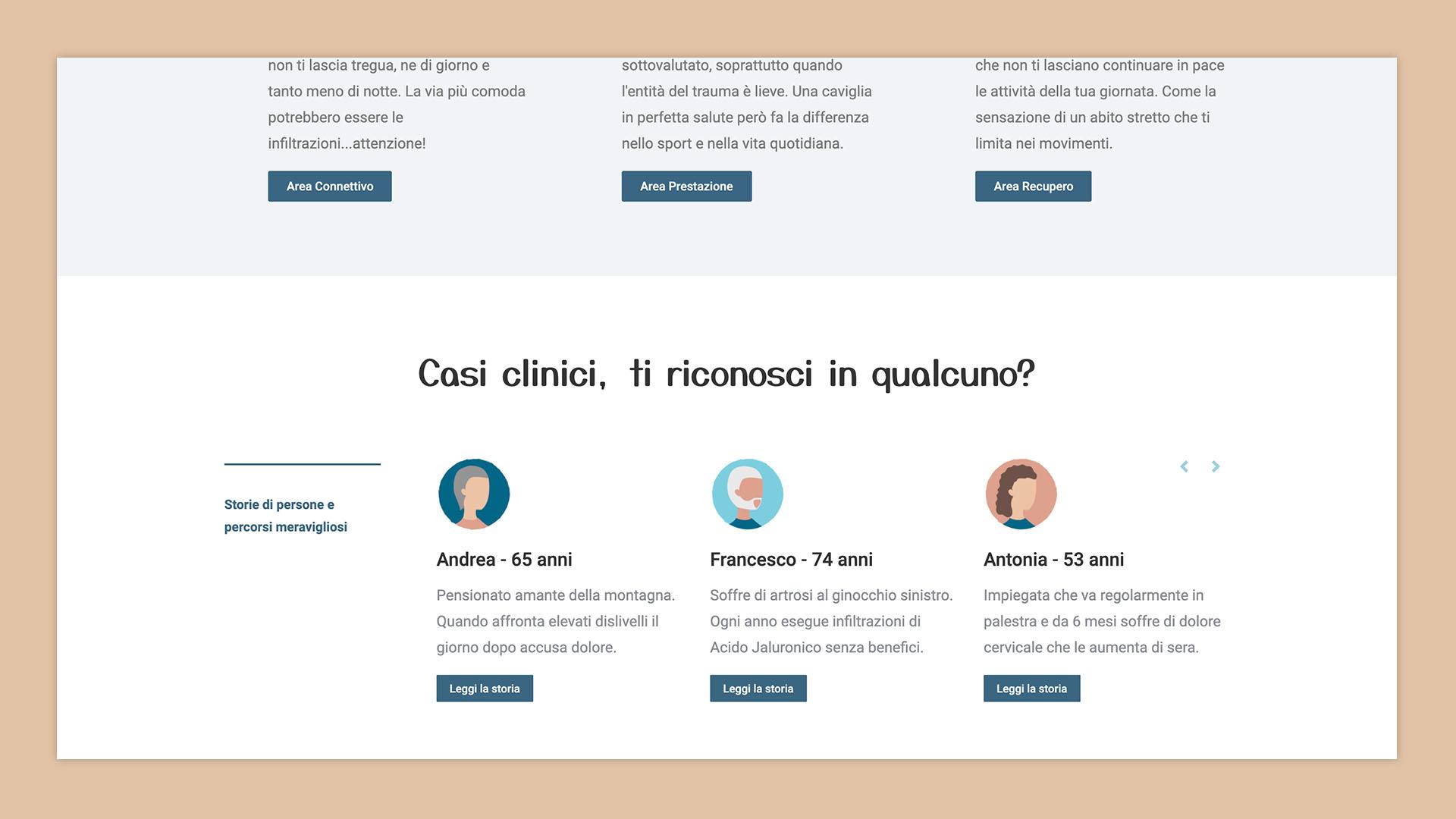 nora blend portfolio web design stl